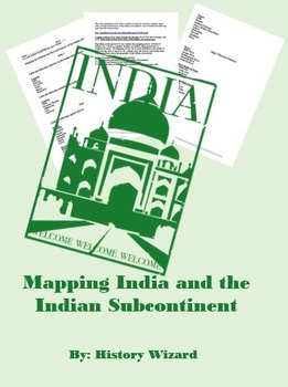 Mapping India and the Indian Subcontinent (Political and Physical)