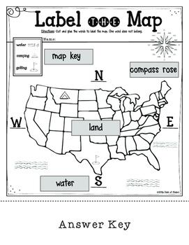 mapping label it first grade and kindergarten social studies tpt. Black Bedroom Furniture Sets. Home Design Ideas