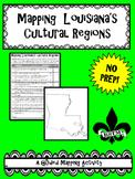Mapping Louisiana's Cultural Regions--No PREP!