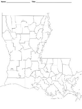 Mapping Louisiana's Turn of the 20th Century Economy--No PREP!