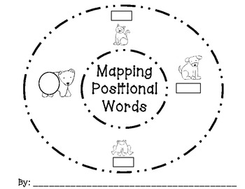 Mapping Positional Words - Common Core Aligned