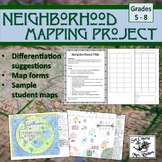 Mapping Project: Create a map of an imaginary neighborhood