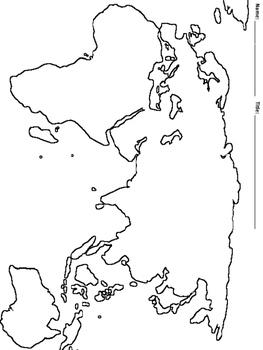 Mapping River Civilizations Activity--No PREP!