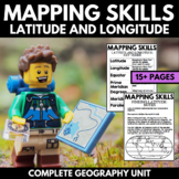 Mapping Skills And Activities | Geography | Latitude and L