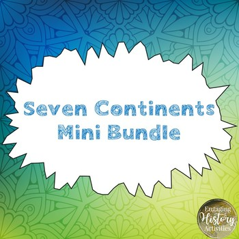 Mapping Skills: Continents Mini Bundle