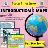 Mapping Skills Google Slides and Notetaking Guide