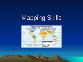 Mapping Skills PowerPoint