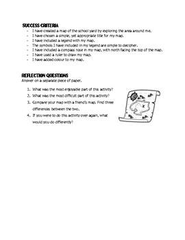 Mapping Skills: The Schoolyard Sketch!