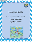 Map Skills | Word Search/Fill in the Blank Activities
