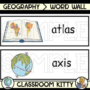 Mapping Skills Word Wall