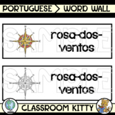 Mapping Skills Word Wall : Portuguese
