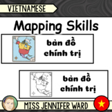 Mapping Skills Word Wall in Vietnamese