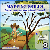 Mapping Skills - an interactive Smartboard lesson
