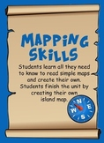 Mapping Skills - learn basic map skills and create your own map.
