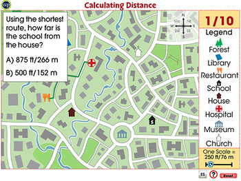 Mapping Skills with Google Earth™: Calculating Distance - Activity - MAC Gr. 3-5