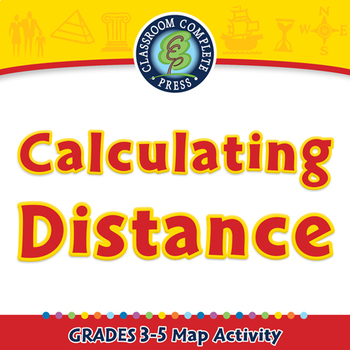 Mapping Skills with Google Earth™: Calculating Distance - Activity - PC Gr. 3-5