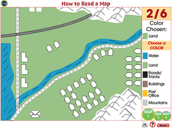 Mapping Skills with Google Earth™: How to Read a Map - Activity - PC Gr. PK-2