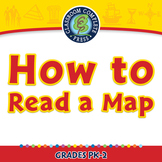 Mapping Skills with Google Earth™: How to Read a Map - PC Gr. PK-2