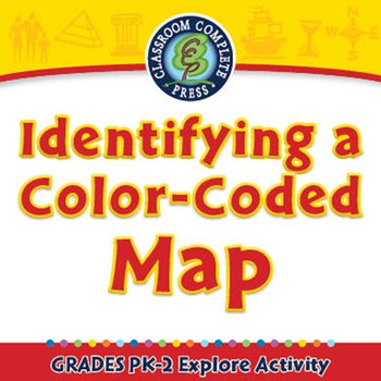 Mapping Skills: Identifying a Color-Coded Map - Explore - MAC Gr. PK-2