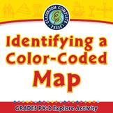 Mapping Skills with Google Earth™: Identifying a Color-Coded Map - Explore - PC
