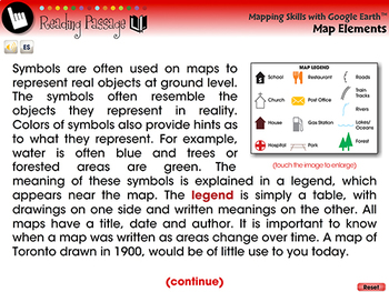Mapping Skills with Google Earth™: Map Elements - NOTEBOOK Gr. 6-8