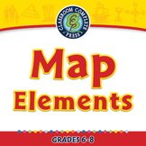 Mapping Skills with Google Earth™: Map Elements - PC Gr. 6-8