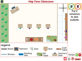 Mapping Skills with Google Earth™: Map Your Classroom - Activity NOTEBOOK Gr. PK