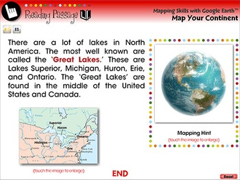 Mapping Skills with Google Earth™: Map Your Continent - NOTEBOOK Gr. PK-2