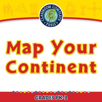 Mapping Skills with Google Earth™: Map Your Continent - NO