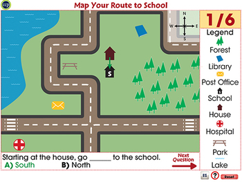 Mapping Skills with Google Earth™: Map Your Route to School - Activity -NOTEBOOK