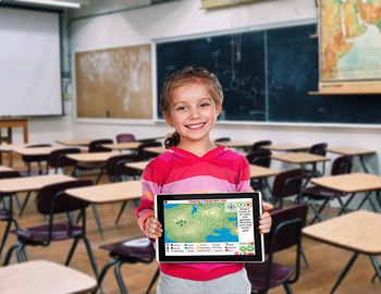 Mapping Skills with Google Earth™:Mapping Geographical Features NOTEBOOK Gr. 3-5