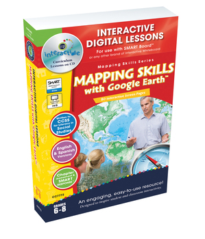 Mapping Skills with Google Earth™ - PC Gr. 6-8