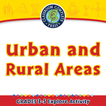Mapping Skills with Google Earth™: Urban and Rural Areas - Explore - PC Gr. 3-5