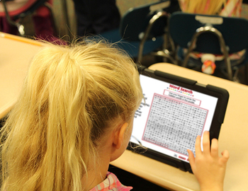 Mapping Skills with Google Earth™: Word Search - NOTEBOOK Gr. 6-8