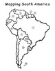 Mapping South American countries