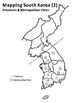 Mapping South Korea: Provinces/Cities