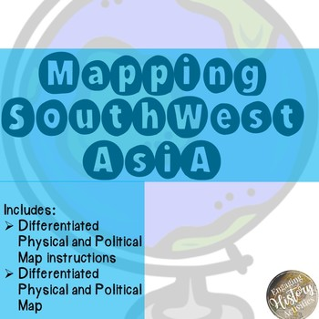 Mapping Southwest Asia
