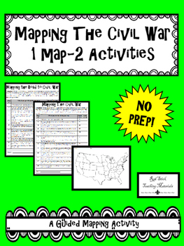 Mapping The Civil War--No PREP!
