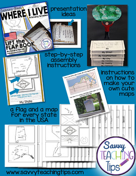 Mapping - USA Lift the Flap Book