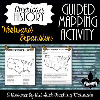 Mapping Westward Expansion Activity--No PREP!