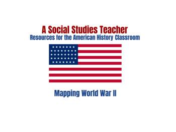 Mapping World War II Activity