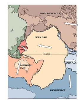 Mapping a Future World - plate tectonics project