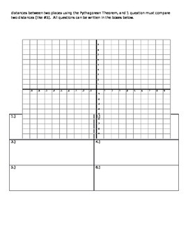 Mapping and the Pythagorean Theorem