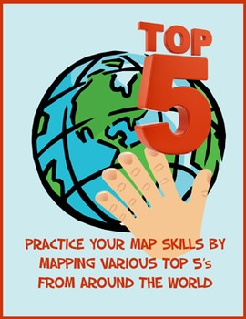 Mapping skills BUNDLE - essential map skills package