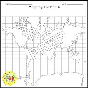 Mapping the Earth Crossword Puzzle