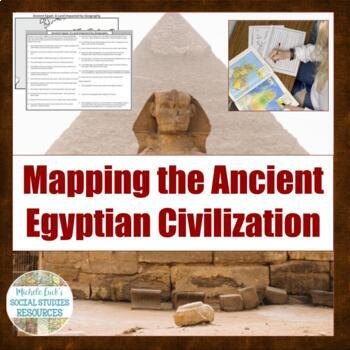 Mapping the Lands of Ancient Egypt Activity