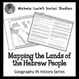 Mapping the Lands of the Ancient Hebrew People Activity
