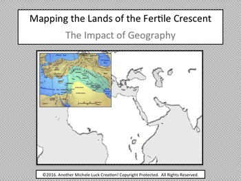 Mapping the Lands of the Fertile Crescent Activity