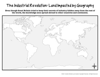 Mapping the Lands of the Industrial Revolution Activity