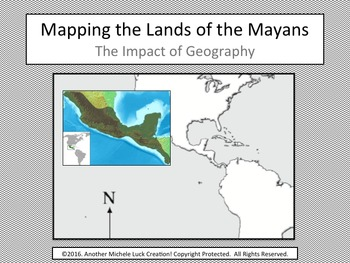 Mapping the Lands of the Maya Empire Activity - Mayans | TpT